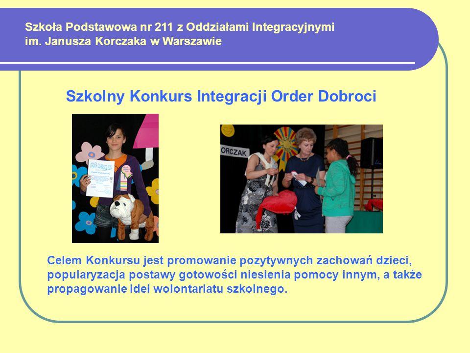 Szkolny Konkurs Integracji Order Dobroci