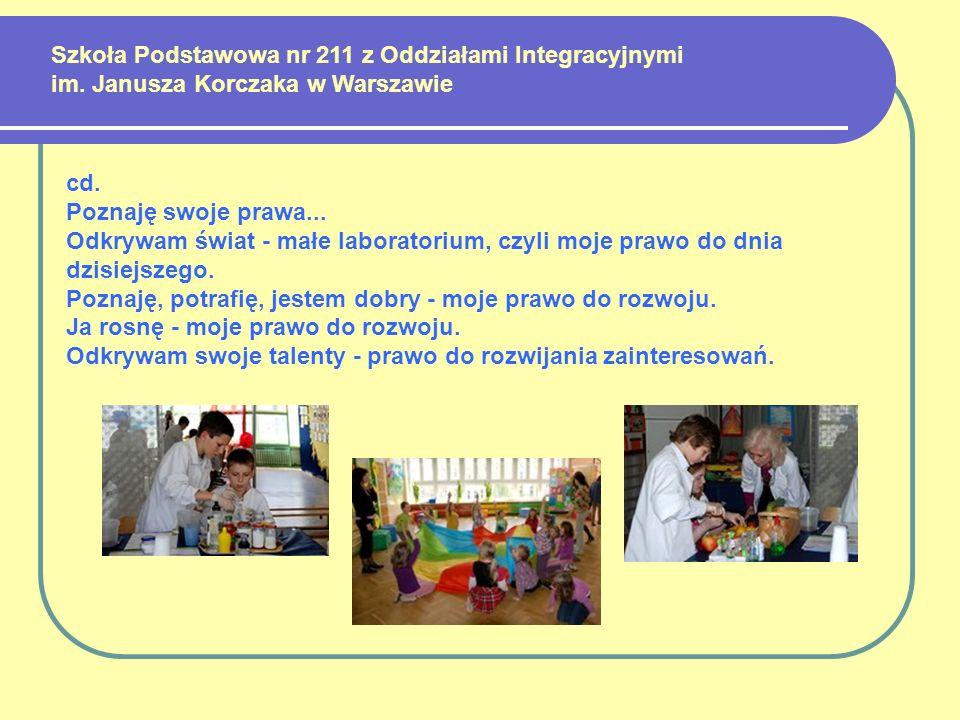 Szkoła Podstawowa nr 211 z Oddziałami Integracyjnymi