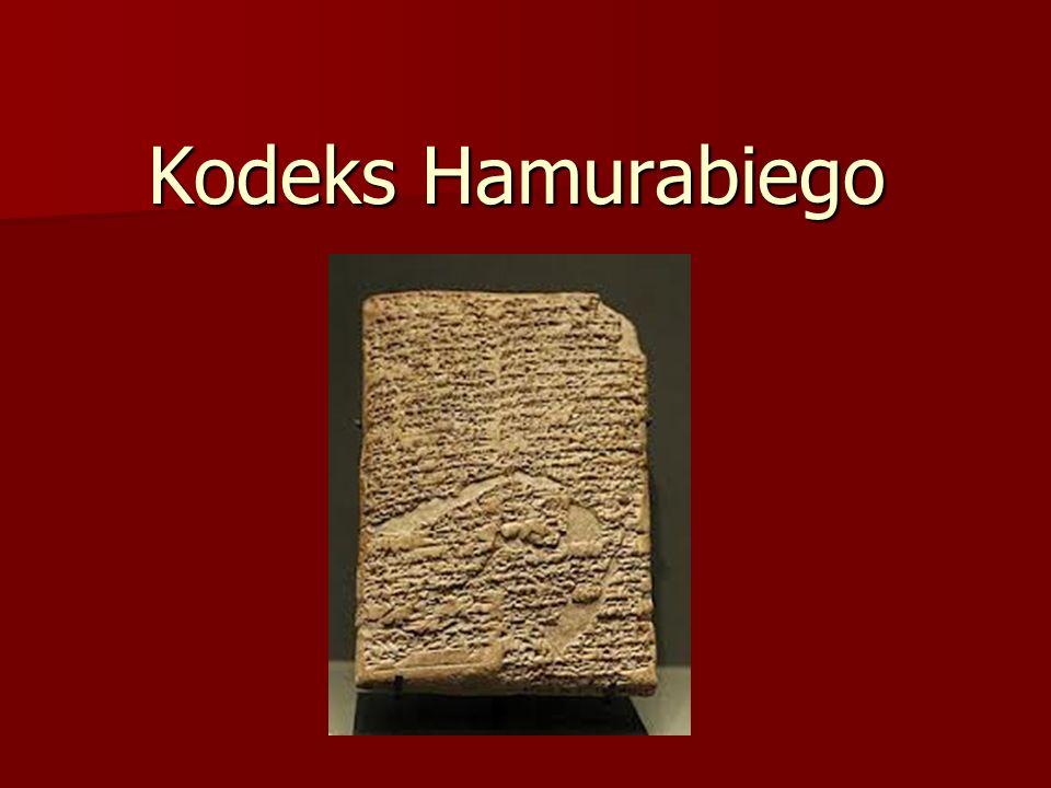 Kodeks Hamurabiego