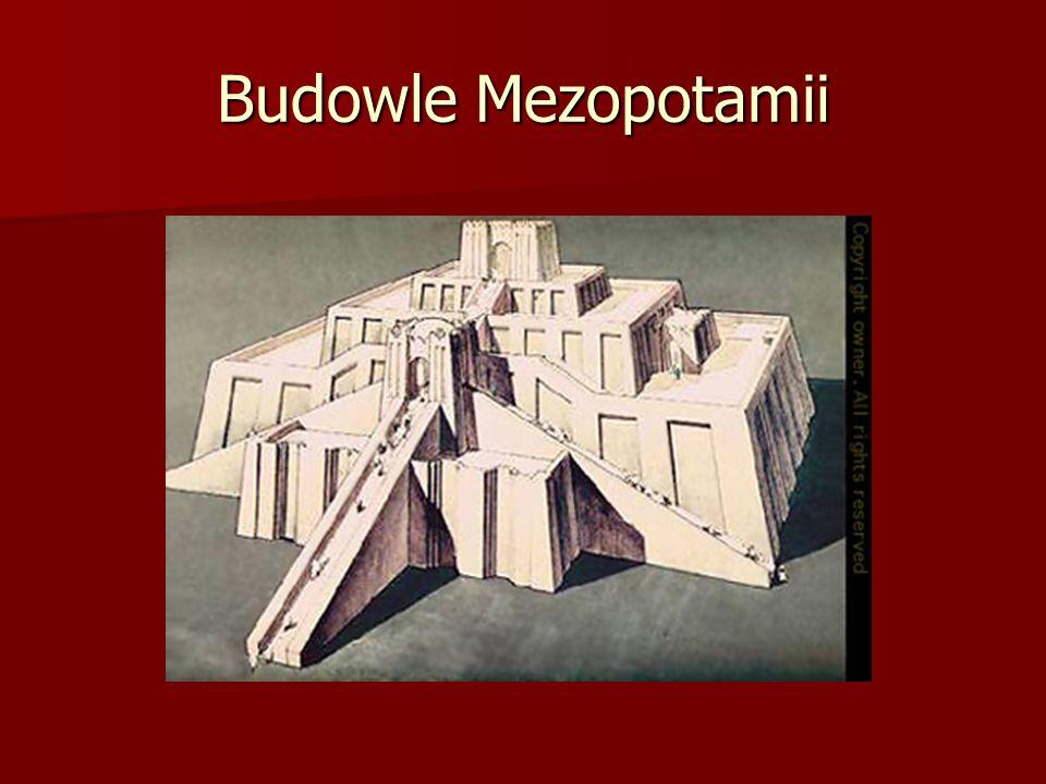 Budowle Mezopotamii