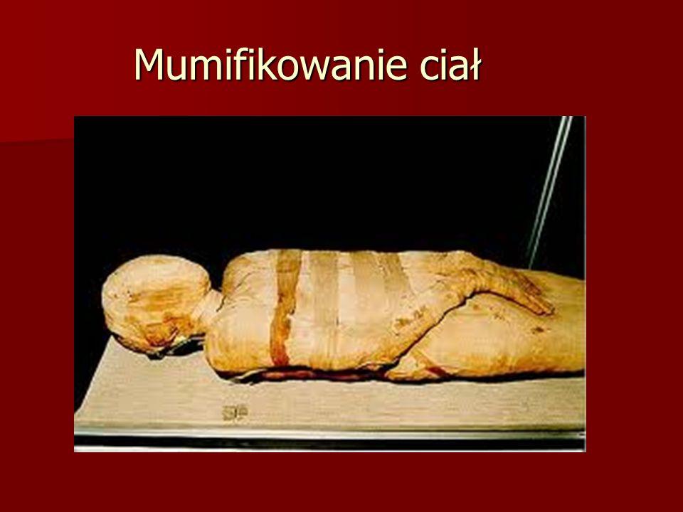 Mumifikowanie ciał