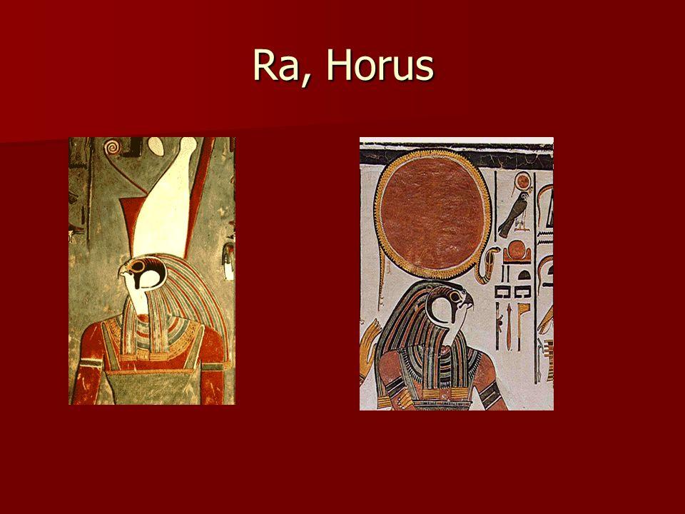 Ra, Horus