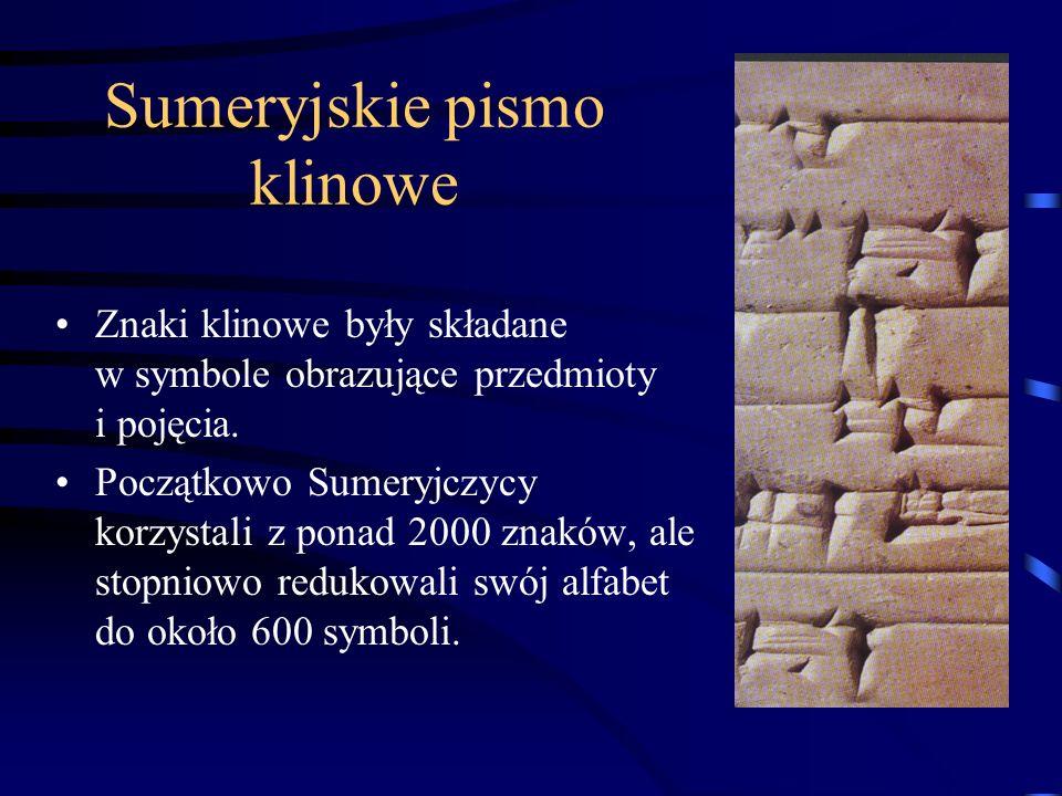 Sumeryjskie pismo klinowe