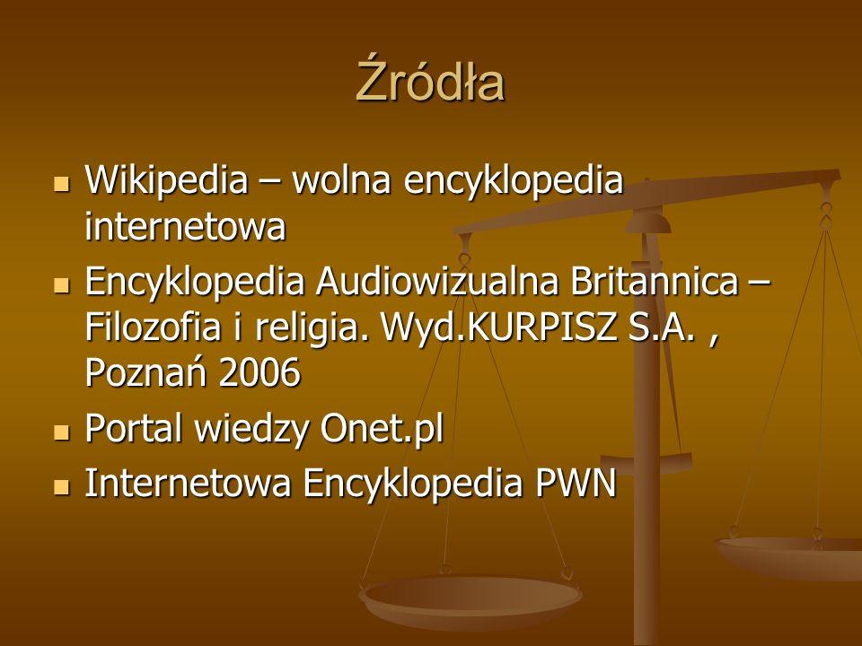 Źródła Wikipedia – wolna encyklopedia internetowa