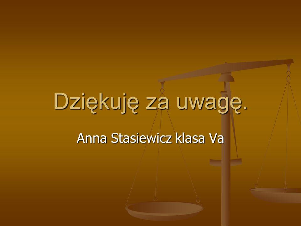 Anna Stasiewicz klasa Va