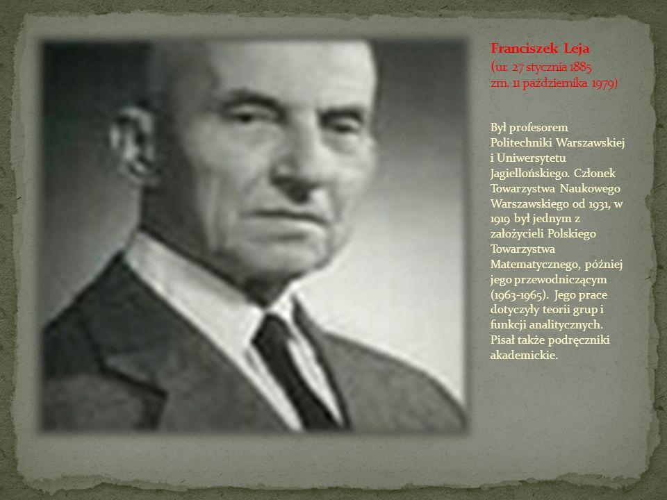 Franciszek Leja (ur. 27 stycznia 1885 zm. 11 października 1979)