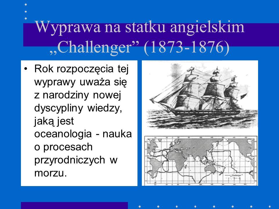 """Wyprawa na statku angielskim """"Challenger (1873-1876)"""
