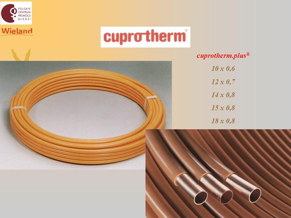 cuprotherm.plus® 10 x 0,6 12 x 0,7 14 x 0,8 15 x 0,8 18 x 0,8