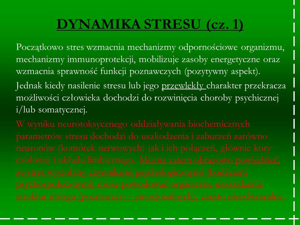 DYNAMIKA STRESU (cz. 1)
