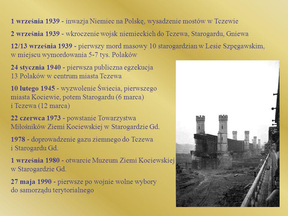 1978 - doprowadzenie gazu ziemnego do Tczewa i Starogardu Gd.