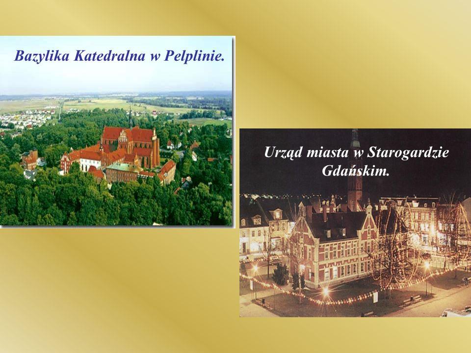 Urząd miasta w Starogardzie Gdańskim.