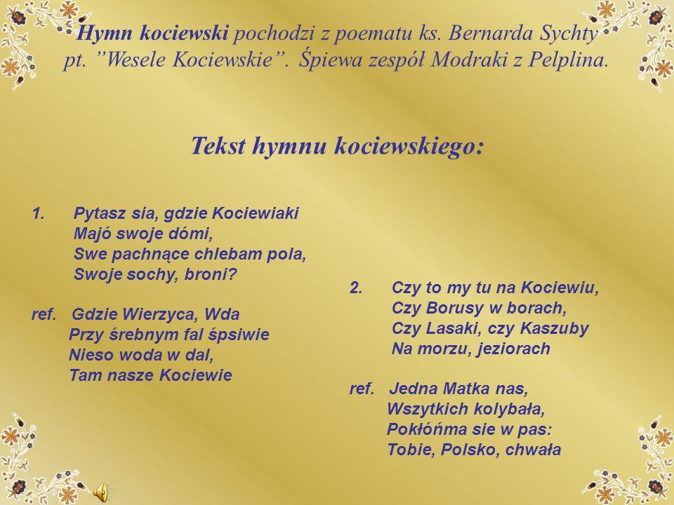 Tekst hymnu kociewskiego: