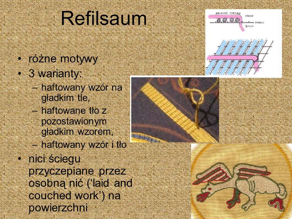 Refilsaum różne motywy 3 warianty: