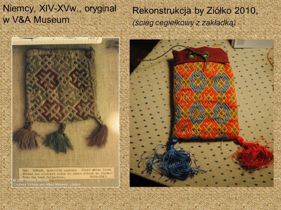Rekonstrukcja by Ziółko 2010, Niemcy, XIV-XVw., oryginał w V&A Museum