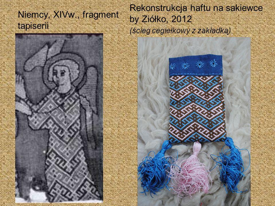 Niemcy, XIVw., fragment tapiserii