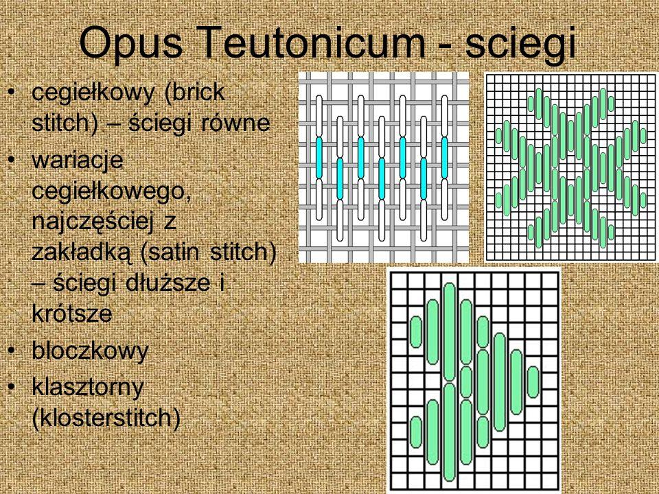 Opus Teutonicum - sciegi