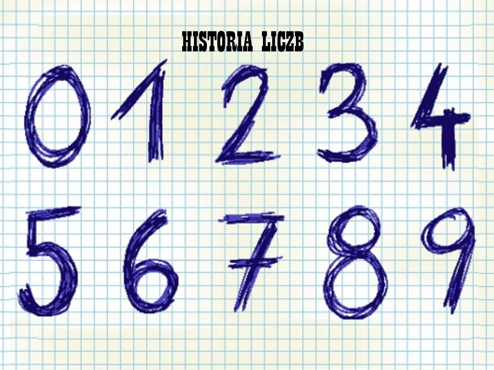 HISTORIA LICZB