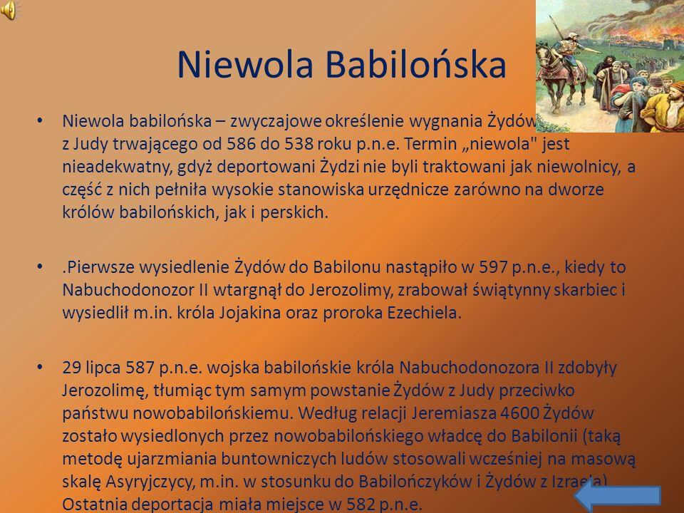 Niewola Babilońska