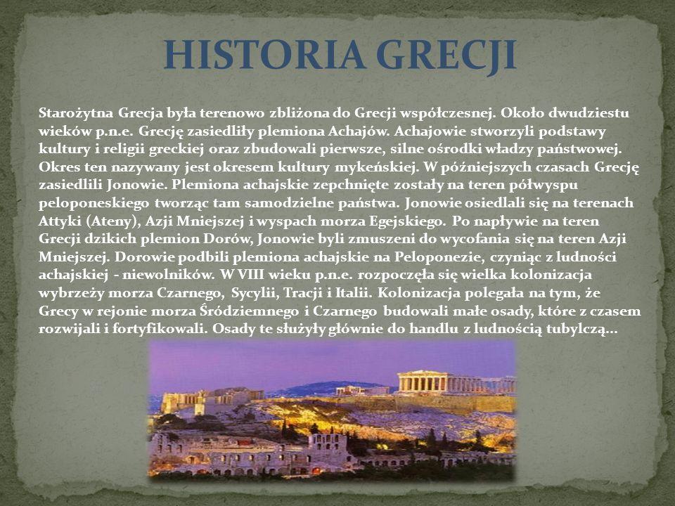 HISTORIA GRECJI
