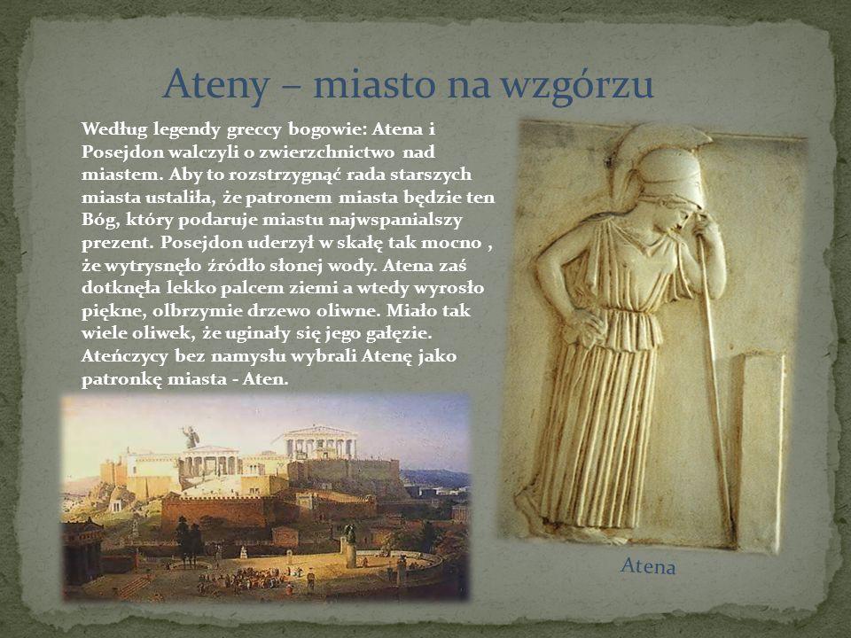 Ateny – miasto na wzgórzu