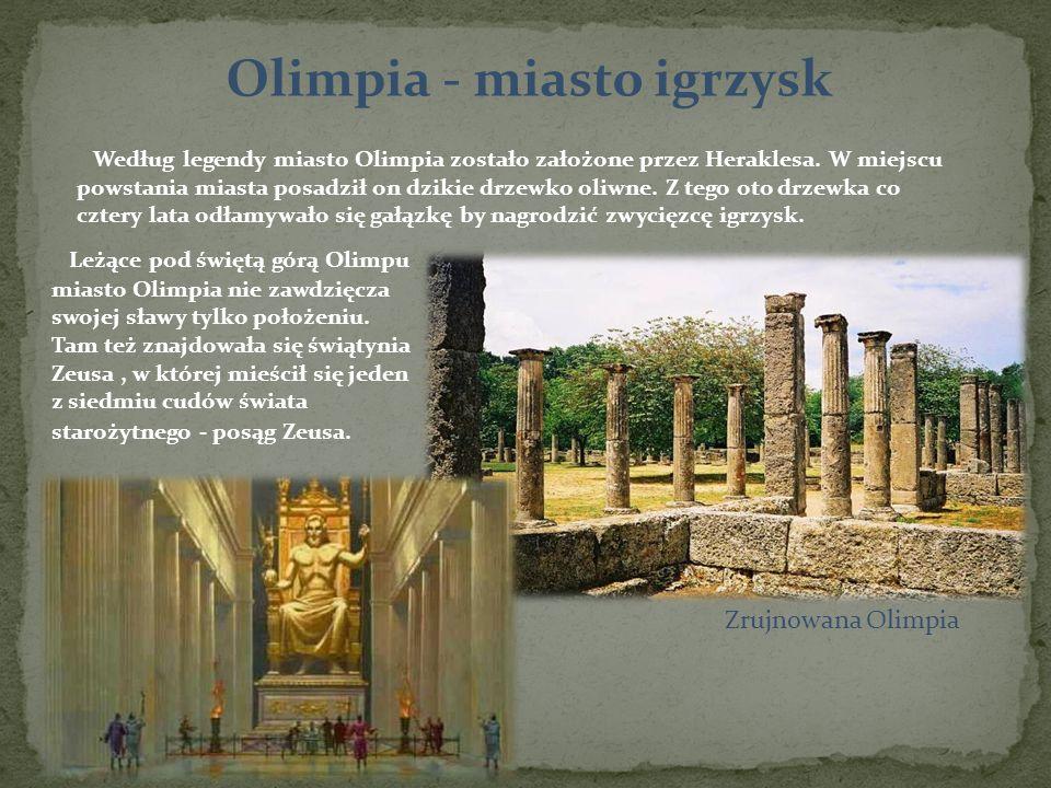 Olimpia - miasto igrzysk