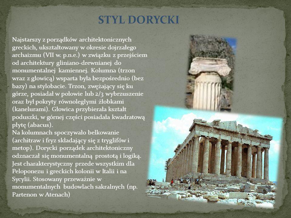STYL DORYCKI