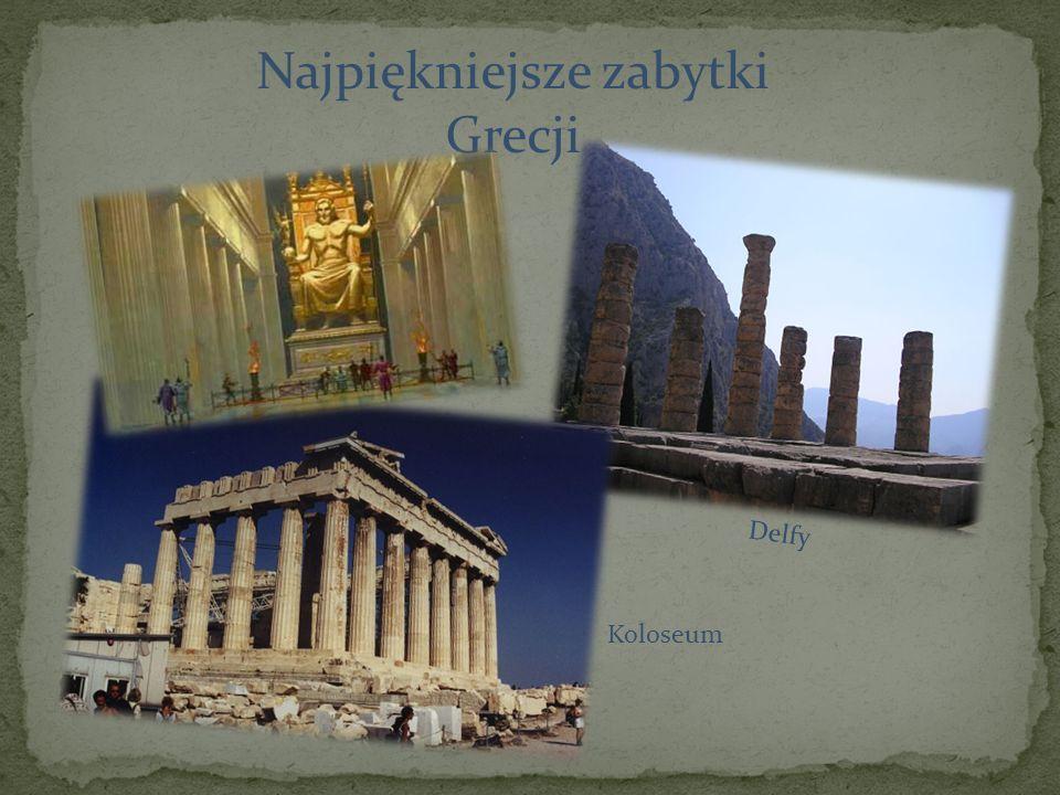 Najpiękniejsze zabytki Grecji