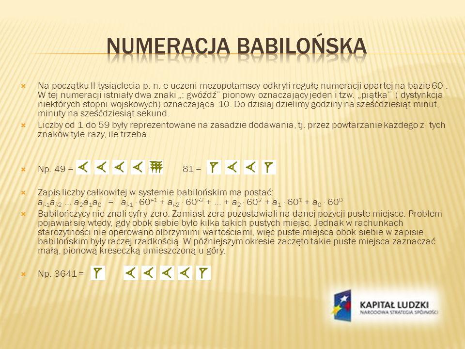 Numeracja babilońska