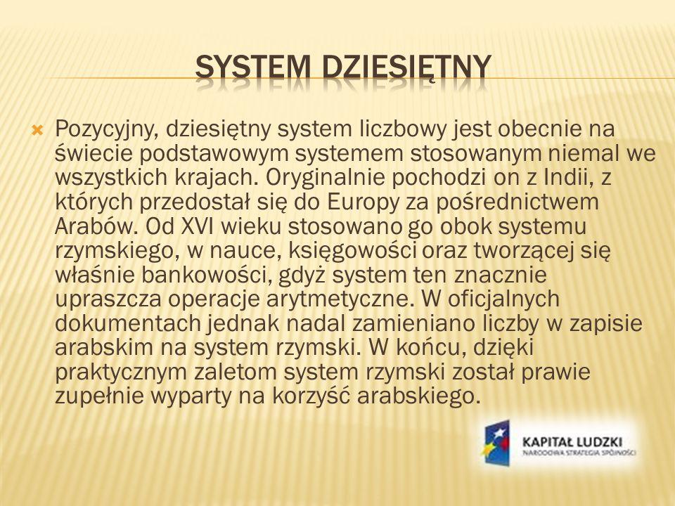 System dziesiętny