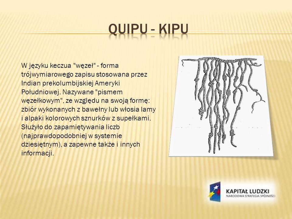 Quipu - kipu