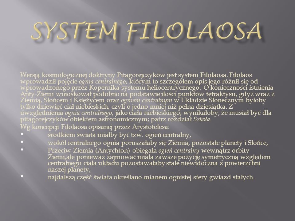 System filolaosa