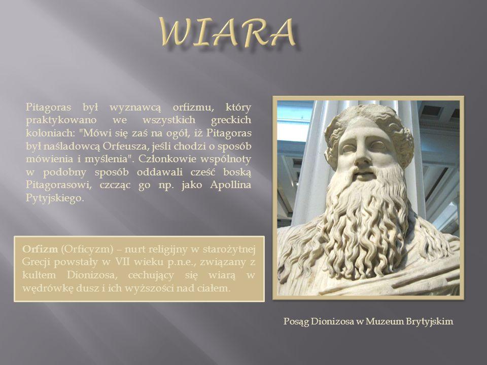 Posąg Dionizosa w Muzeum Brytyjskim