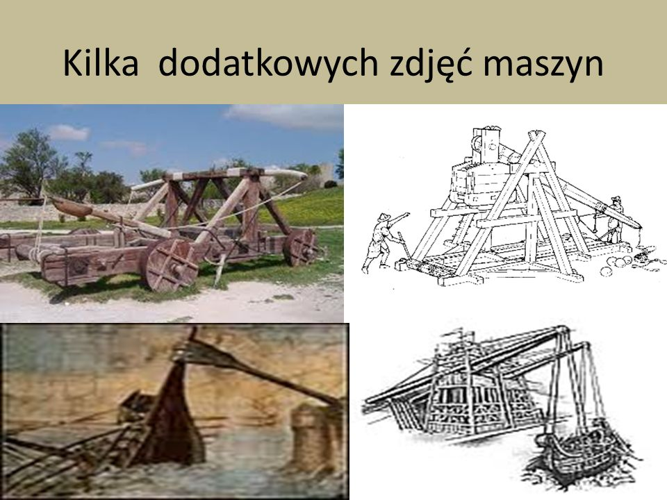 Kilka dodatkowych zdjęć maszyn