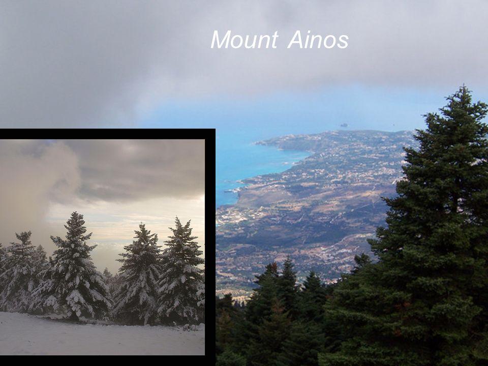 Mount Ainos Mount Ainos Mount Ainos