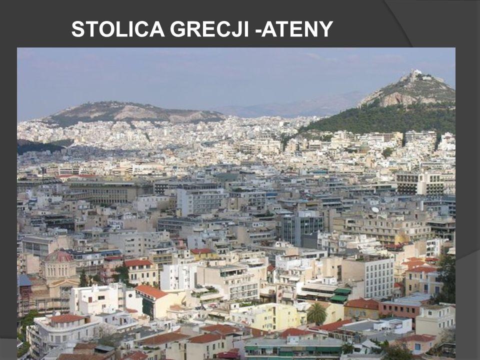 STOLICA GRECJI -ATENY
