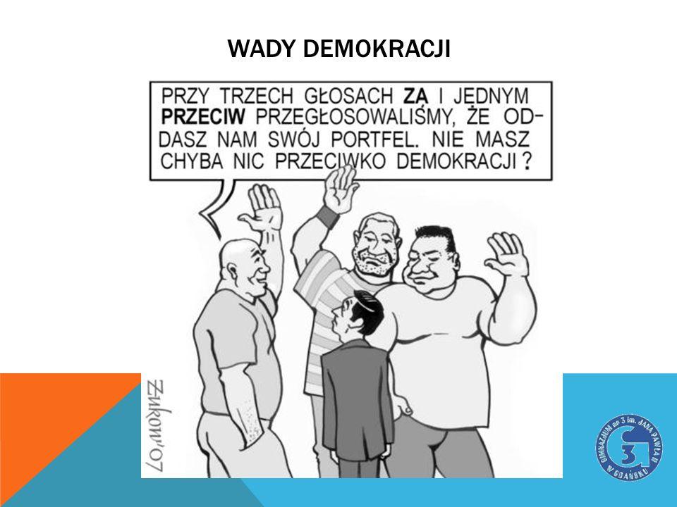 Wady demokracji