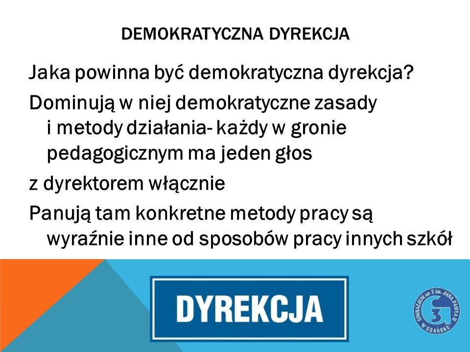 demokratyczna dyrekcja