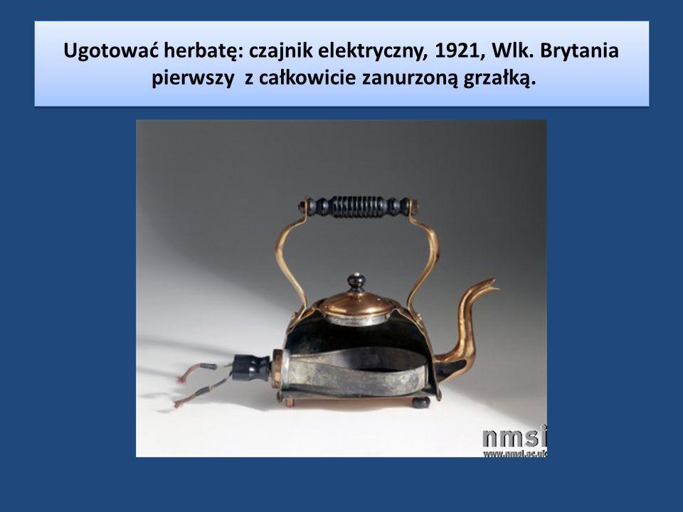 Ugotować herbatę: czajnik elektryczny, 1921, Wlk