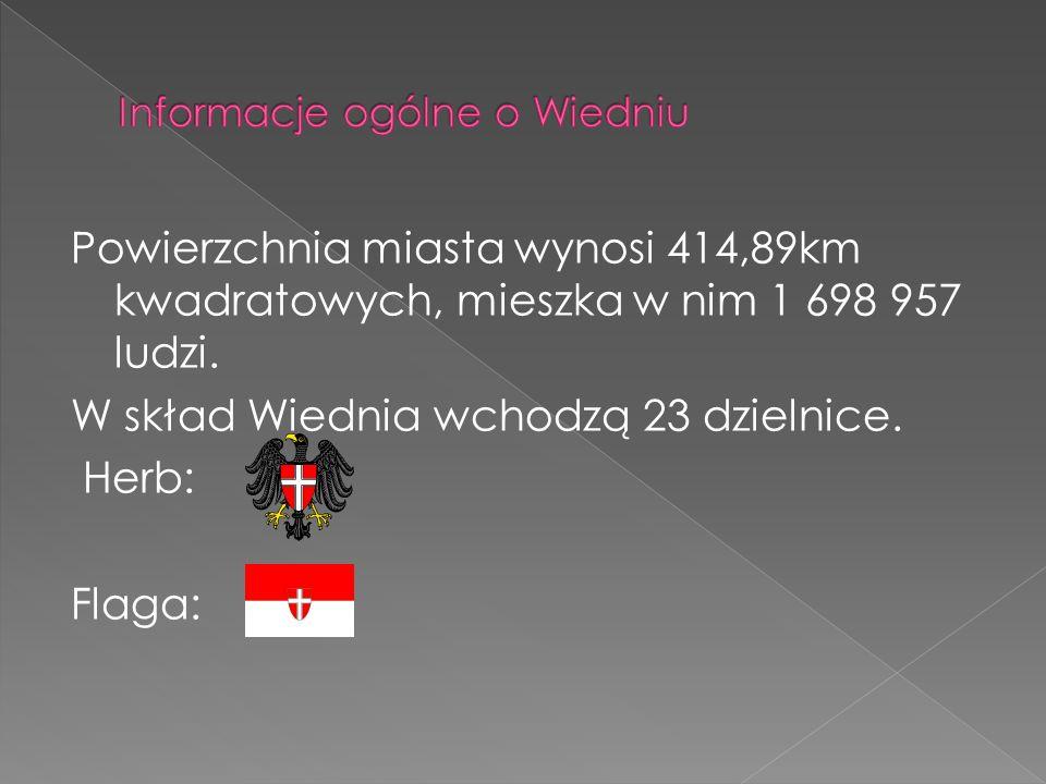 Informacje ogólne o Wiedniu