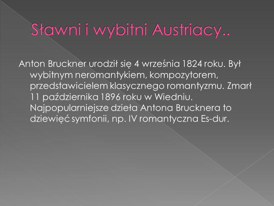 Sławni i wybitni Austriacy..