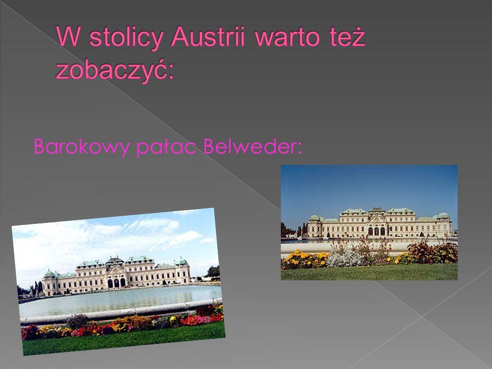 W stolicy Austrii warto też zobaczyć: