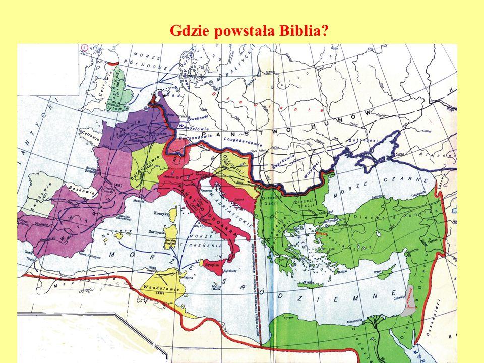 Gdzie powstała Biblia