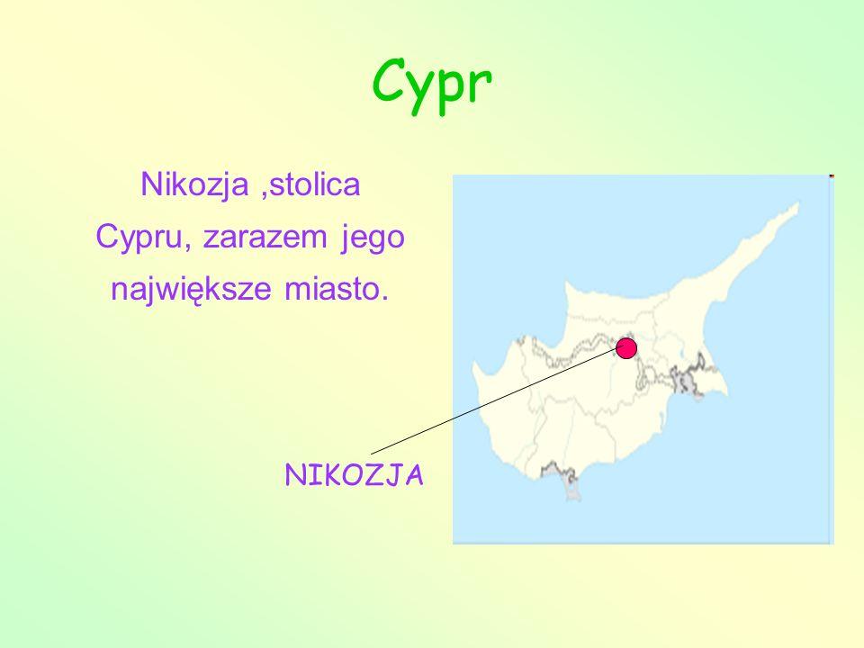 Nikozja ,stolica Cypru, zarazem jego największe miasto.