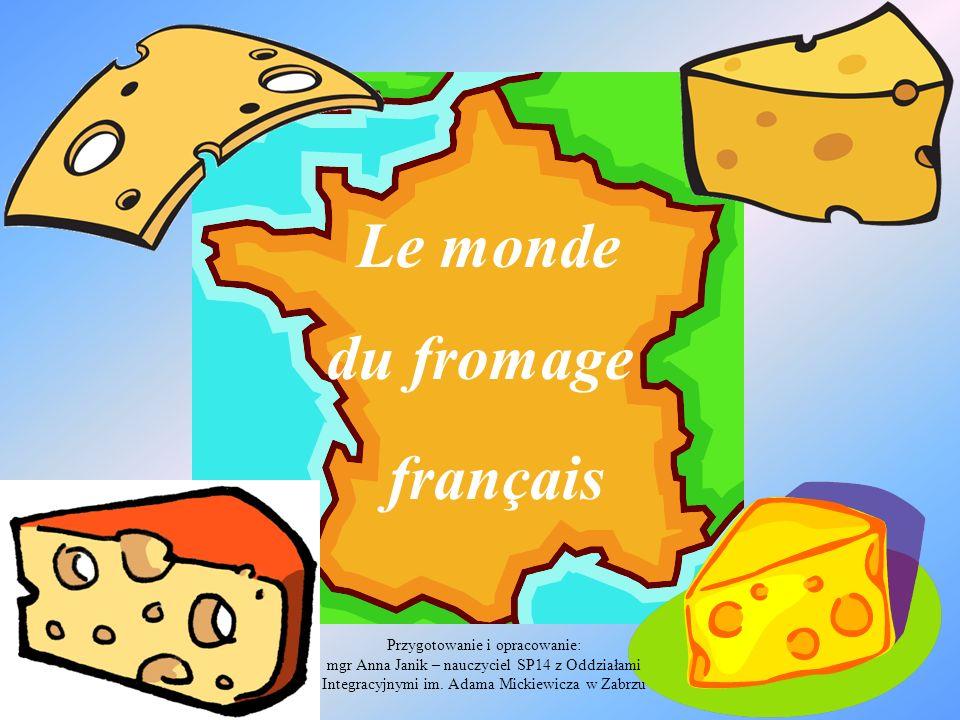 Le monde du fromage français