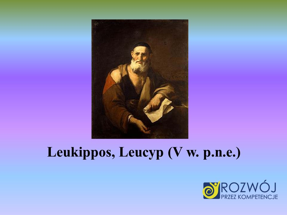 Leukippos, Leucyp (V w. p.n.e.)