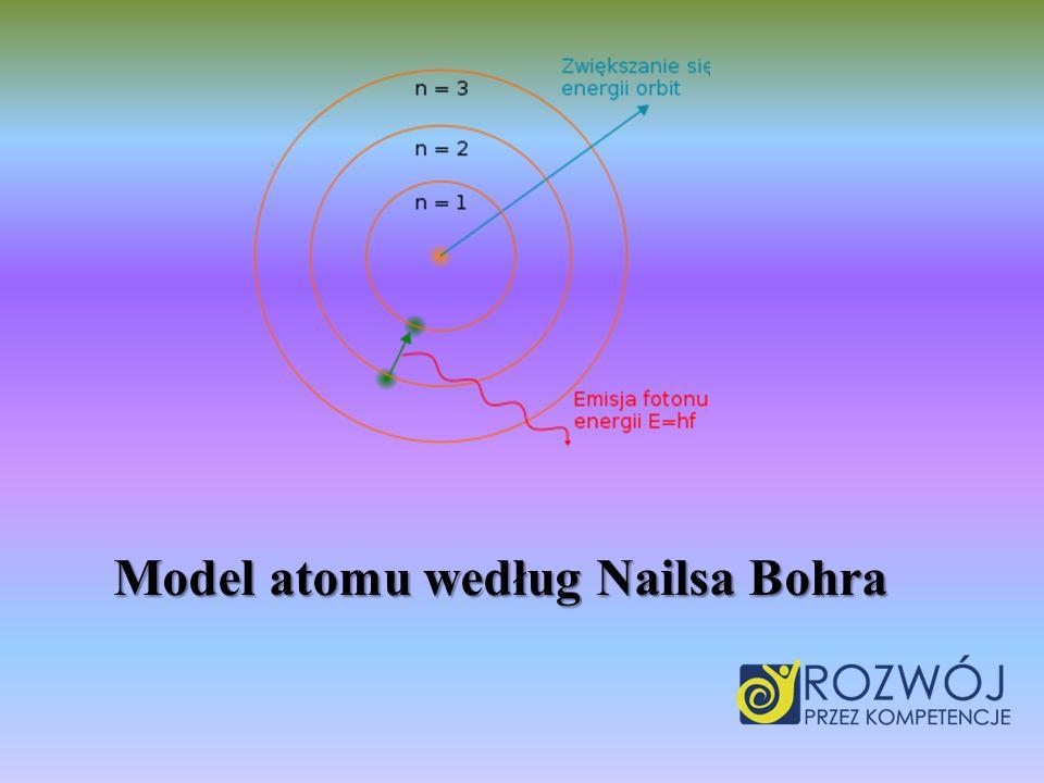 Model atomu według Nailsa Bohra