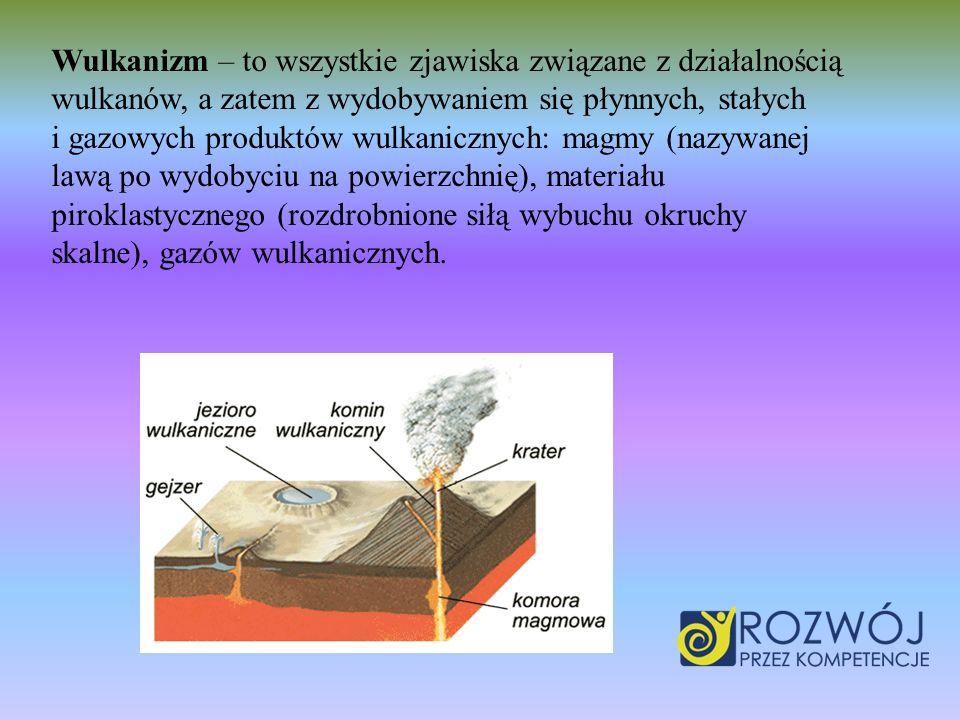 Wulkanizm – to wszystkie zjawiska związane z działalnością wulkanów, a zatem z wydobywaniem się płynnych, stałych i gazowych produktów wulkanicznych: magmy (nazywanej lawą po wydobyciu na powierzchnię), materiału piroklastycznego (rozdrobnione siłą wybuchu okruchy skalne), gazów wulkanicznych.