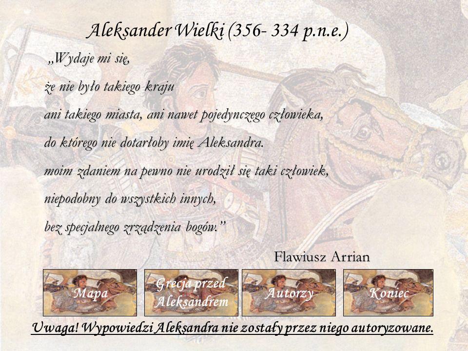 Uwaga! Wypowiedzi Aleksandra nie zostały przez niego autoryzowane.