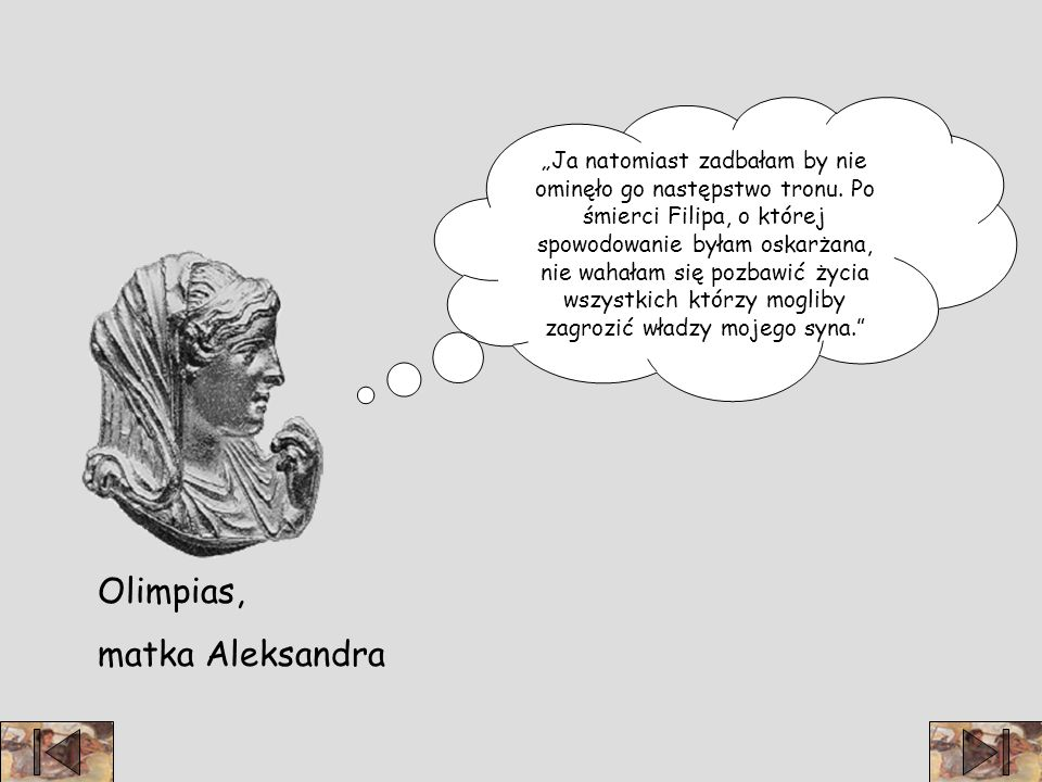 Olimpias, matka Aleksandra