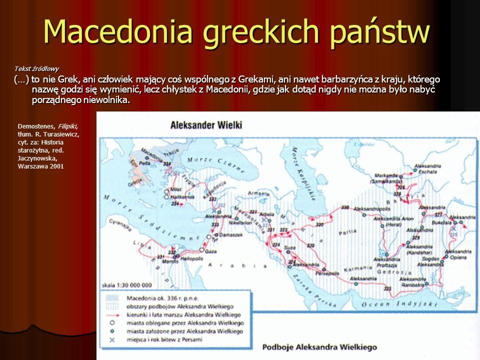 Macedonia greckich państw